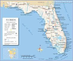 reference map of florida usa new fla  roundtripticketme