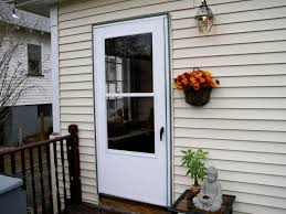 exterior french doors with screens. Installing A Screen Door And Replacing Lattice Exterior French Doors With Screens