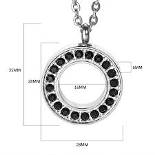 stainless steel urn necklaces for women men cremation pendant memorial ashes jewelry keepsakes cubic zirconia