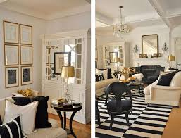 Small Picture Featured Home Black White and Gold Themed Dcor BETTER