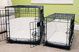 How to make a dog crate Furniture Dog Crate Bumper Pads Sewing Pattern From Kevinandamandacom Thats It So Easy Kevin Amanda Dog Crate Bumper Pads Sewing Pattern Kevin Amanda