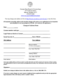 renew cosmetology license ga fill out