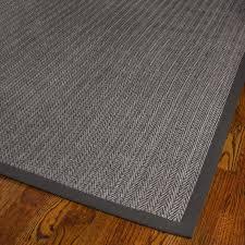 safavieh hand woven natural fiber uni grey fine sisal rug