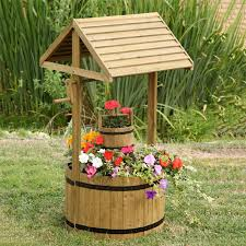 wishing well garden feature for