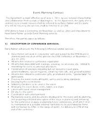 Venue Contract Template Event Contract Template Sample Contract Templates In Word