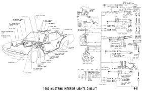 1967 mustang wiring and vacuum diagrams average joe restoration oil pressure and water temp senders wipers washers water oil and fuel gauges instrument panel lights and interior courtesy lights