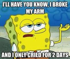 Funny Broken Arm Jokes   Kappit via Relatably.com