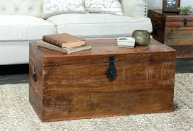 cedar chest coffee table storage trunk