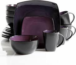 Mcleland Design 32 Pc Stoneware Dinnerware Sets Gibson Home Soho Lounge 16 Piece Dinnerware Set