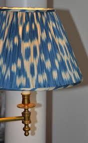 silk pleated lamp shades bunny williams home it s all in the details 18