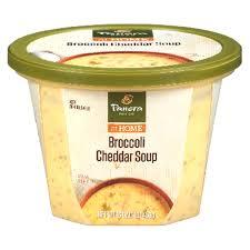 panera soup. Unique Panera Panera Bread Soup Broccoli Cheddar 16 Oz Throughout A