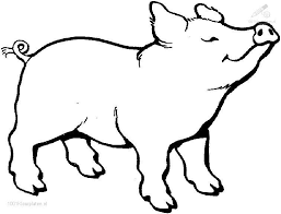 Small Picture Good Pig Coloring Page 26 For Download Coloring Pages with Pig
