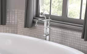 aquatica caesar faucet floor mounted tub filler chrome 03 1 web