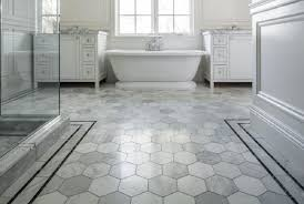 bathroom floor tile grey. bathroom floor tile ideas in white theme with hexagon pattern made of cork grey t