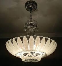 1940s chandelier