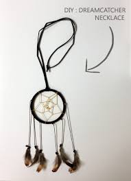 Small Dream Catcher Necklace Delectable Dream Catcher Mamanellie