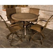 counter height patio furniture small. counter height patio furniture with small round table and swivel chairs design n