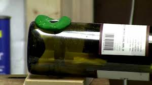 Making Wine Bottle Lights How To Make A Wine Bottle Lamp Youtube