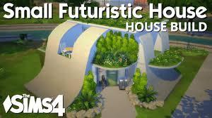 Sims 4 Futuristic House Cc
