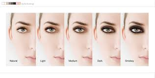 awesome sue bryce make up chart for eye makeup it ranges everywhere from light