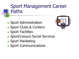 Sports Management Careers Sport Careers Chapter Ppt Video Online Download