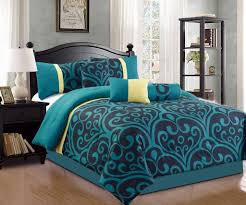 teal bedspread king
