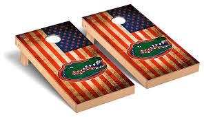 florida gators uf game set vintage flag