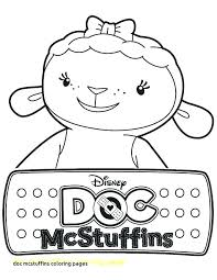 Doc Mcstuffins Coloring Pages To Print O3326 Doc Coloring Sheets