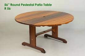 round wood patio table wonderful large round pedestal patio table outdoor table classic cedar in pedestal round wood patio table round