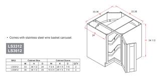 Standard Base Cabinet Dimensions Kitchen Base Cabinet Dimensions Monsterlune
