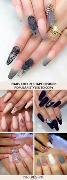 Coffin Designs Best 25 Coffin Nail Designs Ideas Only On Pinterest Holiday