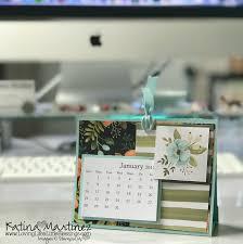 diy desktop calendar