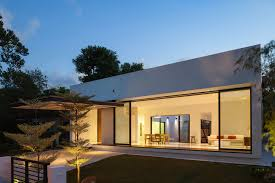 Modern Minimalist House Warm Wal Cement Design Homes Interior Design