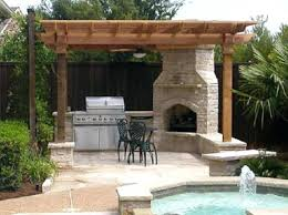 outdoor fireplace kitchen cost budget cost to build outdoor living spaces company install builder patio kitchen