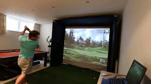 best home golf simulator. SkyTrak Home Golf Simulator With The Club Software. Best