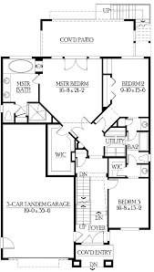 house plans with finished basement ranch home design and style