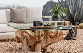 pure teak root coffee table coffee