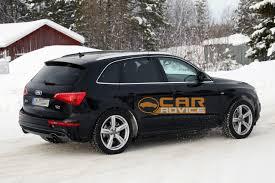 Audi Q5 facelift spied - Photos