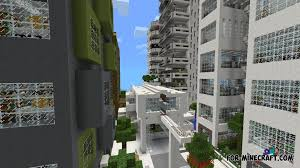 modern architecture mod minecraft. nxus modern city map for minecraft pe 0.10.x architecture mod