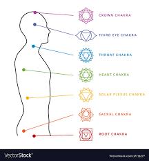 Chakra System Chart Chakra System Of Human Body Energy Centers