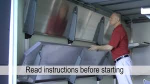 Fold Up Shelf Reach Fold Up Shelves Installation Youtube