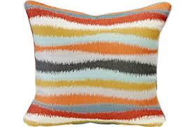orange accent pillows. ISofa Stintino Accent Pillows (Set Of 2) Orange