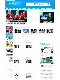 Newspaper Website Template Free Download News Portal Template Free Download Site Customize Awesome