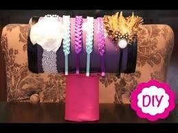 Headband Display Stand Diy Inspiration DIY HeadBand Stand SURPRISE Katie Snyder YouTube