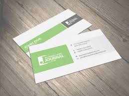 Business Cards Layout Traditional Column Layout Business Card Design
