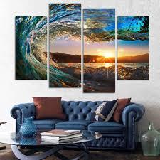 Acquerello paesaggio marino dipinti acquista a poco prezzo