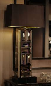 Tall Table Lamps For Bedroom Special Order Design 37 Tall Art Deco Mirrored Tower Lamp