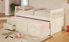 Twin Bed with Pull Out/Slide Out (Trundle) Bed Underneath: Best Beds for  Small Bedroom Spaces