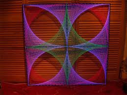 String Art Pattern Generator Enchanting 48 Creative DIY String Art Project Ideas How To Make Your Own