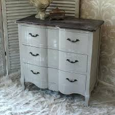 grey shabby chic bedroom furniture. Grey Shabby Chic Bedroom French Vintage Style Chest Drawers Home Furniture Wood . R